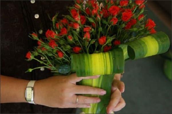 bó hoa hồng tỉ muội cực dễ dàng