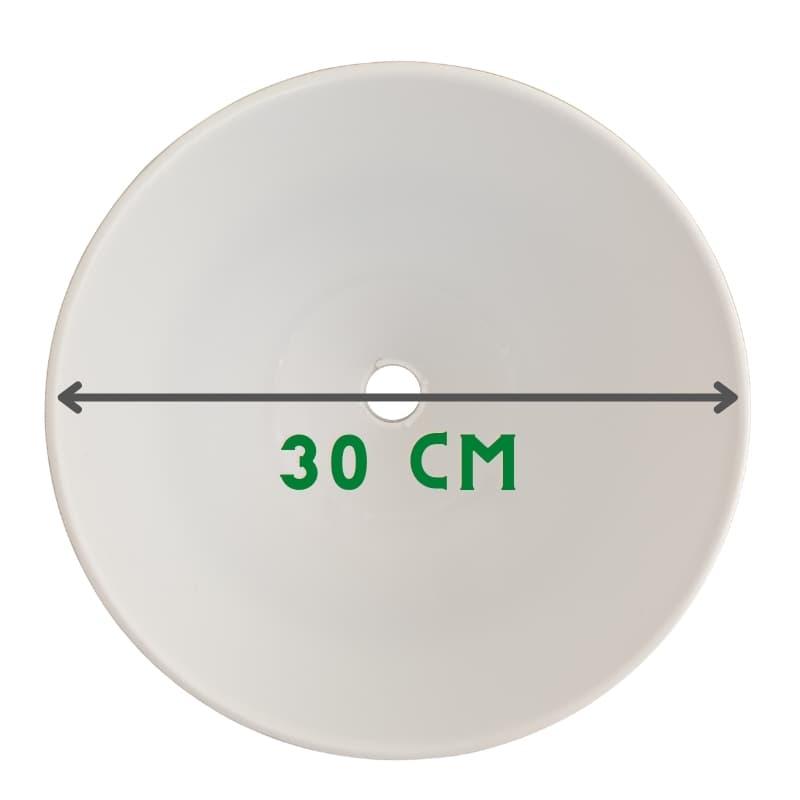 chao đèn lớn có đường kính 30cm