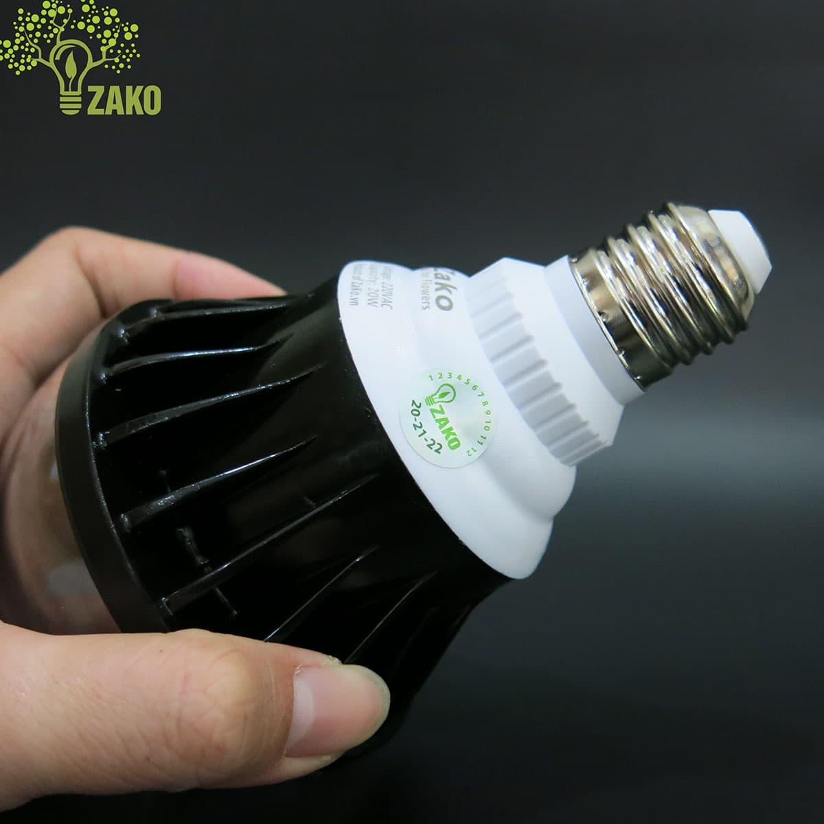 đèn led trồng cây 20w của zako
