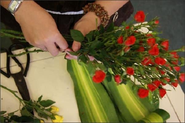 gói hoa tỉ muội đẹp